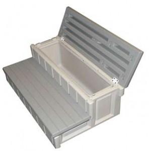 marche pied coffre spa balneo. Black Bedroom Furniture Sets. Home Design Ideas